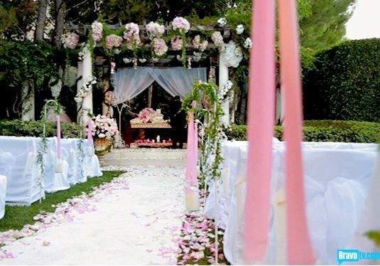 Google Image Result for http://twowineybitches.files.wordpress.com/2012/01/rhobh_wedding.jpg: My Dream Wedding, Pandora Wedding, Fairytale Wedding, Wedding Flowers, Pandora S Wedding, Pandoras Wedding, Outdoor Weddings, Celebrity Weddings