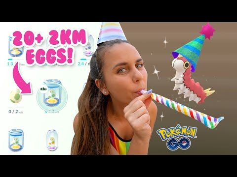 Hatching 20 Event 2km Eggs Party Hat Wurmple Is Here Pokemon Go Youtube Party Hats Pokemon Pokemon Go