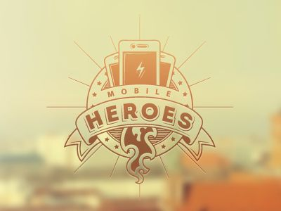 Dribbble - Mobile Heroes by Mikhail Pigichka