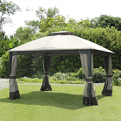 Buy Sunjoy 110109102 Original Replacement Canopy Windsor Gazebo 10x12 Ft L Gz717pst C Sold Biglots Polyester Online Tophitsgoods In 2020 Gazebo Replacement Canopy Gazebo Replacement Canopy
