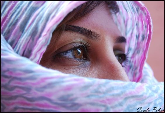 Is it possible, just through her eyes, to understand what is underneath..?