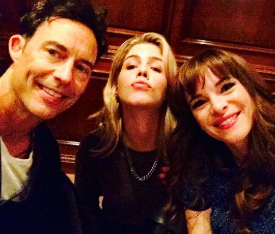 Tom Cavangh, Emilt Bett Rickards & Danielle Panabaker - The Flash