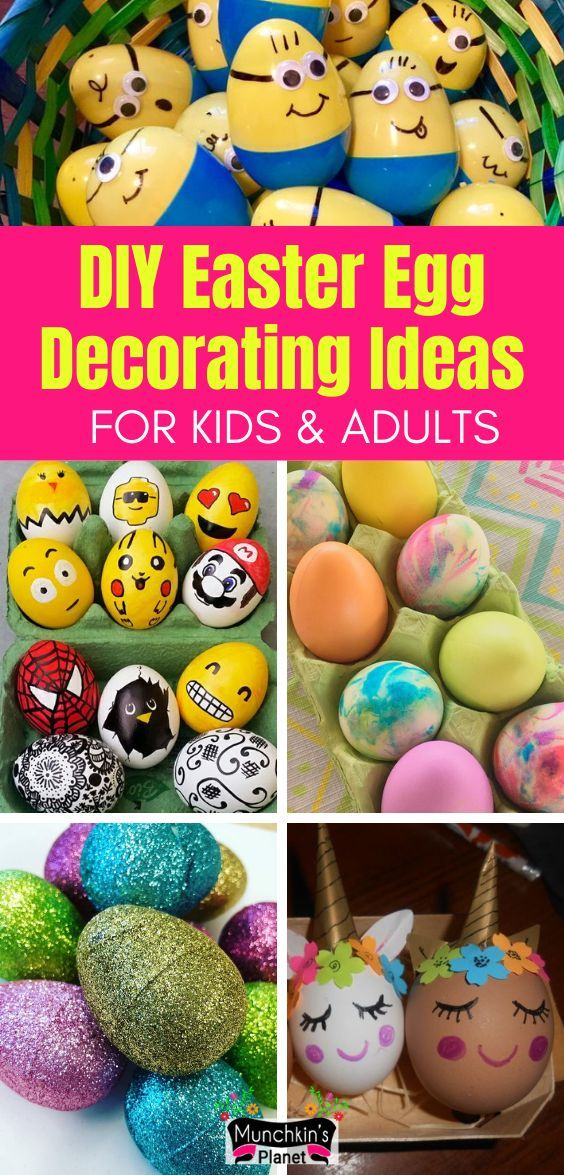 19 Diy Easter Egg Decorating Ideas Easter Eggs Diy Easter Eggs Easter Diy