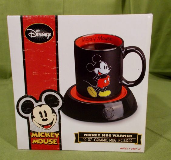 Disney Mickey Mouse coffee cup,electric warmer