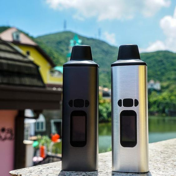 Two's a party with the Ald Amaze WOW portable vaporizer