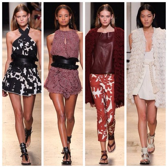 My first four from Isabel Marant #pfw