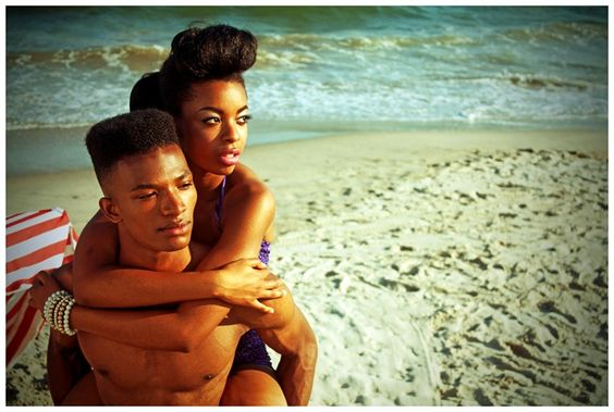 Black Americana  Collective of Young New Yorkers Evoke the 50's in New Photo Series. Exclusively for Vogue.it the shots by Rod Gailes OBC