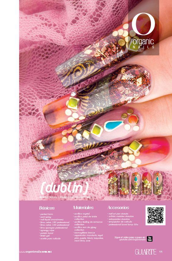 DUBLIN  Manolo Rosas / Promaster Organic® Nails Diseño publicado en la revista Lo Mejor No. 25 de Organic® Nails.  http://youtu.be/Ng7Gc3hJfds?list=PLVzihPafxEEyTe9DvLCfizactj-BZKHwd