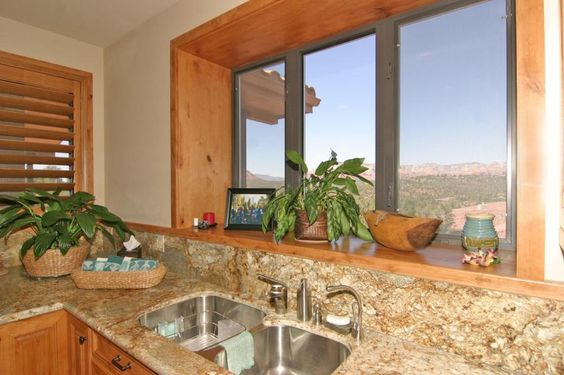 Kitchen Sink - 203 Bristlecone Pines Rd, West Sedona, Listed with Rob Schabatka from RE/MAX Sedona.
