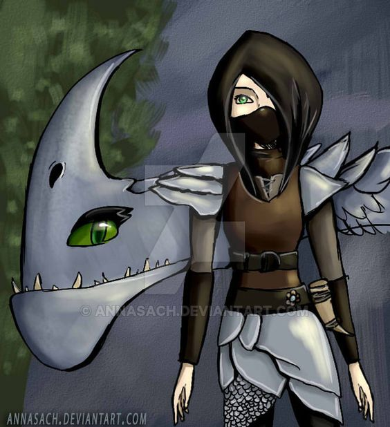 Heather And Windshear The Razorwhip Dragon
