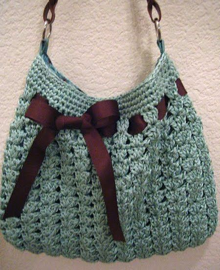 Nordstrom Crochet Hobo Bag Pattern : Clearly I need to make this as daily someone pins this ...