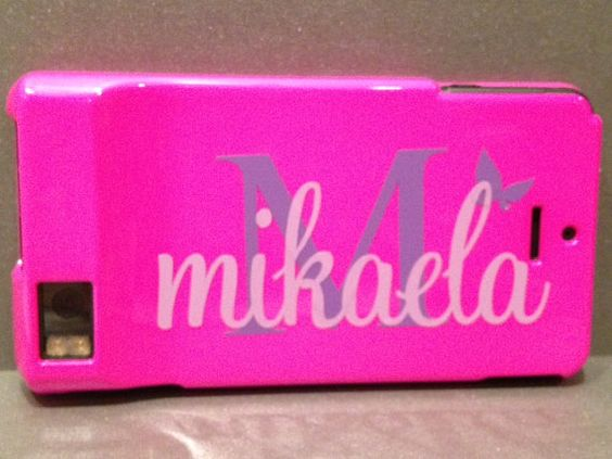 Personalized Cell Phone Water Bottle by PersonalizedJewellz, $5.00