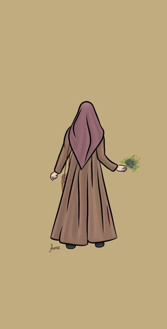 Kumpulan Gambar Kartun Muslimah 36