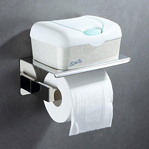Bathroom Tissue Holder With Phone Shelf Angle Simple Sus Bathroom Tissue Holder Toilet Paper Holder Toilet Paper Dispenser