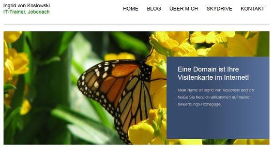 Die eigene Bewerbungshomepage: Vorteile, Beispiele und Checkliste