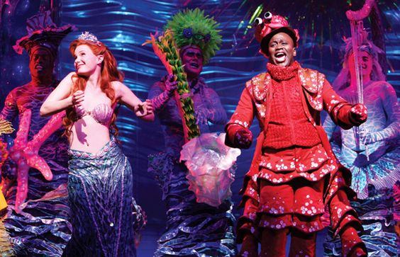 Sierra Boggess as Ariel in the Broadway production of The Little Mermaid