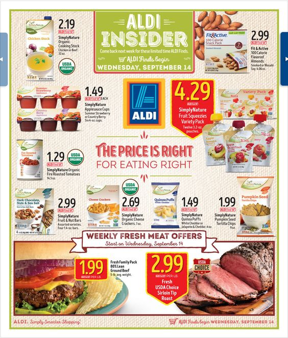 Aldi In Store Ad September 14, 2016 - http://www.olcatalog.com/grocery/aldi-weekly-ad.html