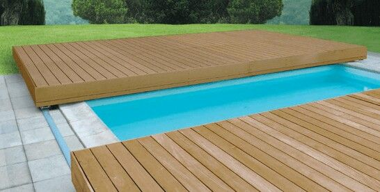 Sliding Deck Pool Safety Winter Pool Covers Swimming Pools