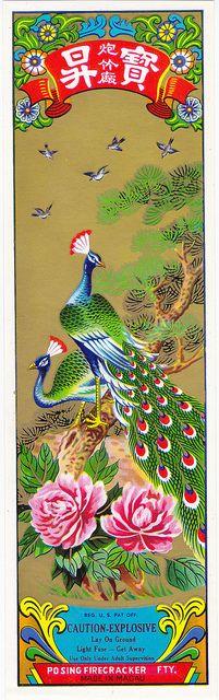Peacock Art...By Artist Mr Brick Label...: