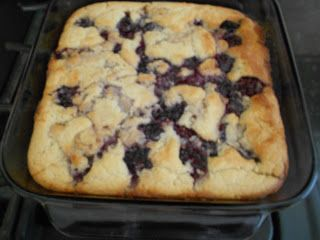 The Moonlight Factory: Black Raspberry Cobbler. This was AMAZING. Buttery, delicious. Make it. You won't regret it.