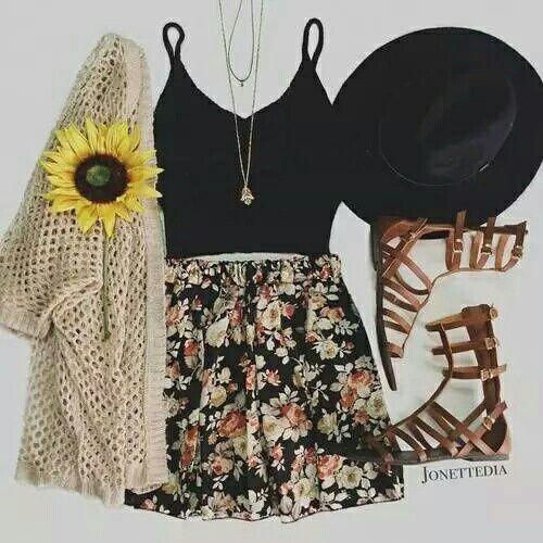 Cute summer outfit Follow me: ♡megymonster021♡: