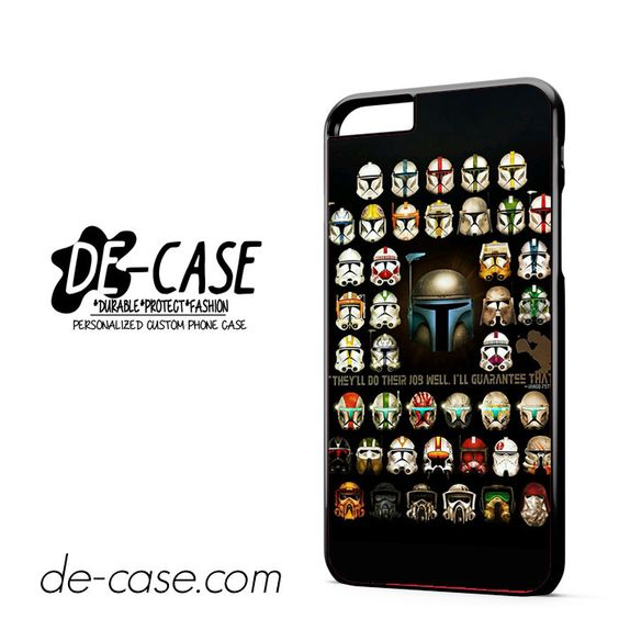 Star Wars Troopers DEAL-10073 Apple Phonecase Cover For Iphone 6/ 6S Plus