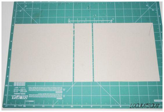 Paso a paso del álbum scrap con lomo - Handbox | Craft Lovers