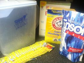 Queen of Free: Homemade Dishwasher Detergent Recipe + Tips and Tricks!