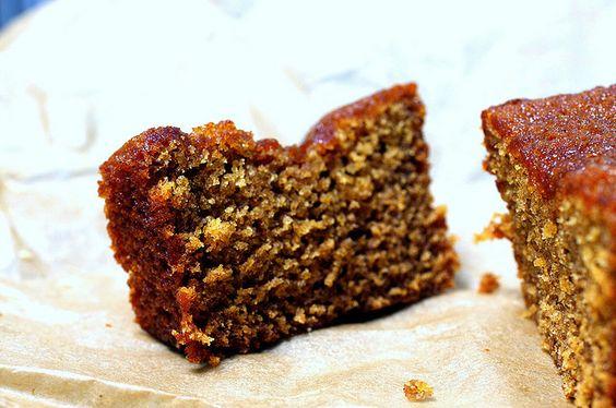 Majestic & moist honey cake by smitten, via Flickr