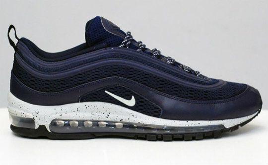 Nike Air Max Qs 97 Em 600k Noir / Bleu