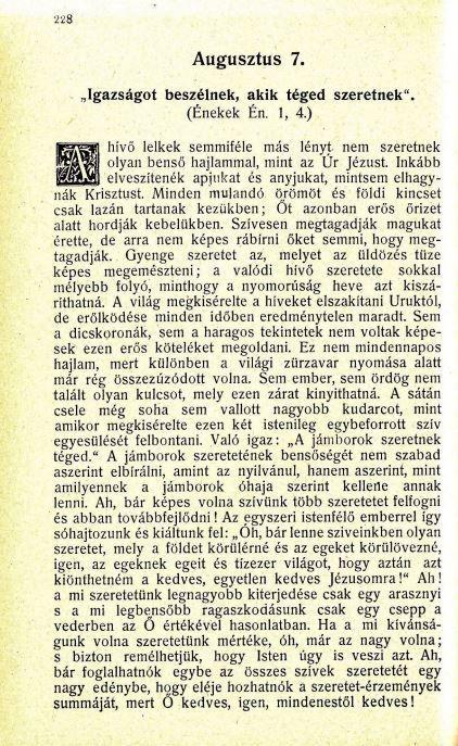 08.07.Spurgeon: Harmatgyöngyök...
