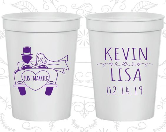 Party Cups, Personalized Cups, Wedding Cups, Personalized Plastic Cups, Stadium Cups, Wedding Cup, Plastic Cups (212)