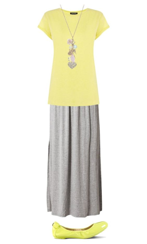 """""""Yellow"""" by lizardbeth95 ❤ liked on Polyvore featuring Glamorous, Warehouse, Wet Seal and Cole Haan"""