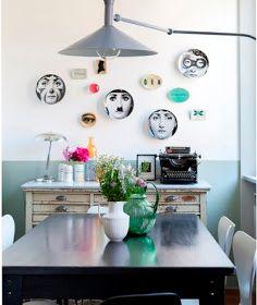 Casinha colorida: Muito charme na hora das refeiçoes