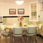 Retro Dinettes: Family Dining, Solid Top, Kitchen, 1950's, Custom Size