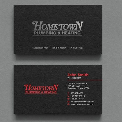 Designing A Business Card For A Construction Company Business Card Contest Design Business Ca Company Business Cards Business Card Design Custom Business Cards