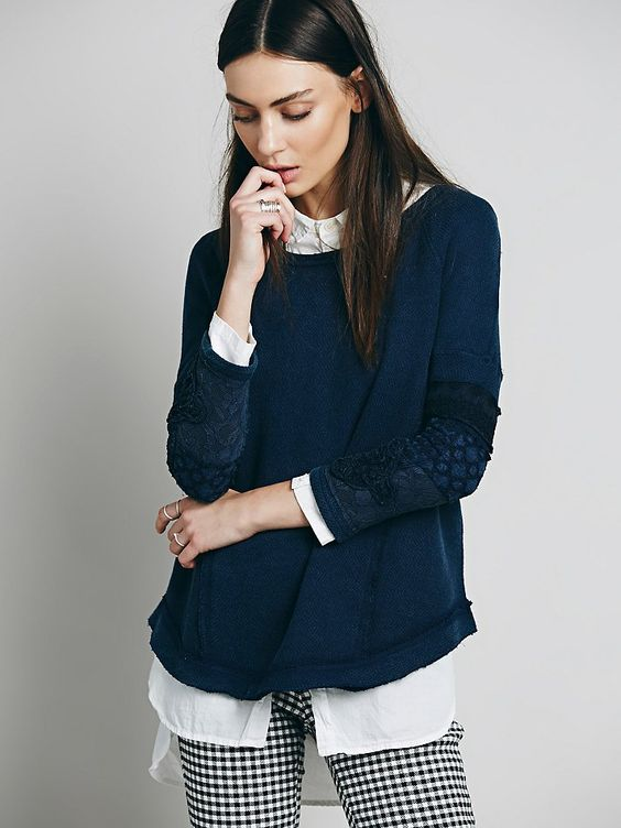 Free People Cuffed Tunic, €61.92