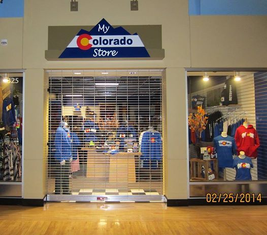Dimensional sign from PVC, foam and acrylic.  Mills Mall - Colorado