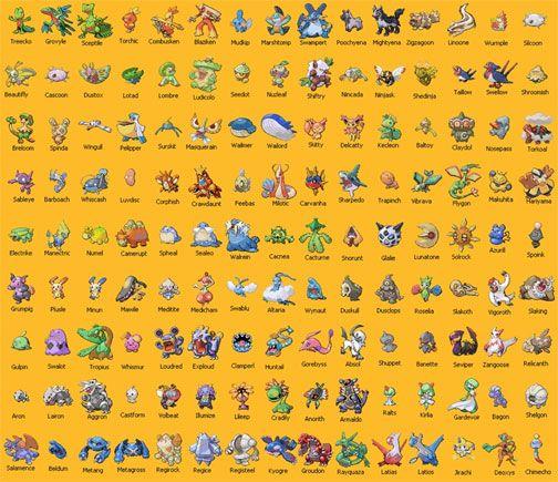 Pokemon names, The o'jays and Magazines on Pinterest
