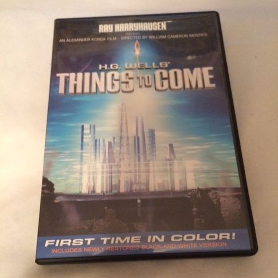 Things to Come (DVD, 2006) Full Screen/Colorized and B&W Versions