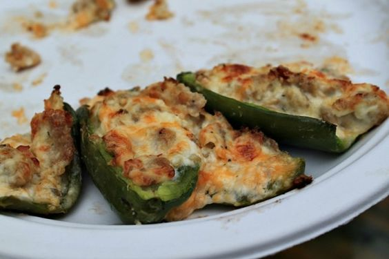 How to make stuffed Jalapenos - used vegan crumbles and vegan cheeses, also good as mushroom stuffing.