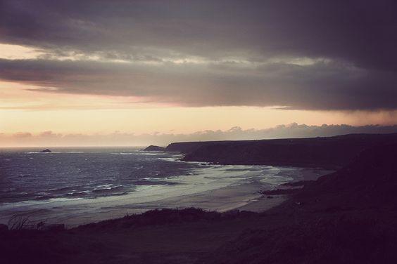 """Autumn Sunset"" by Karl Davies."