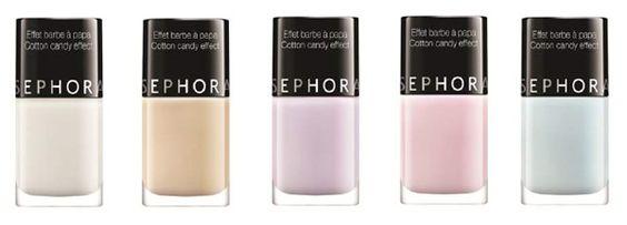 Golose sfumature sorbetto e romantiche tonalità pastello per le unghie di primavera. Le ultime novità di Estrosa, Sinfulcolors e Sephora . http://www.sfilate.it/222842/unghie-primavera-dai-colori-pastello-consistenza-zucchero-filato