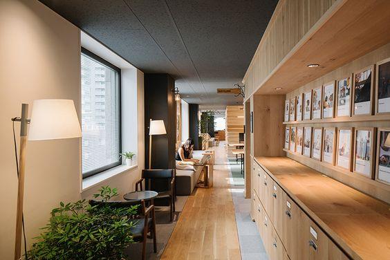 Oficinas de #airbnb en Tokio #decoración #decor #interiorism