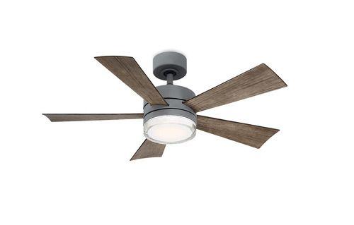 Wynd Indoor Outdoor Led Smart Ceiling Fan Ceiling Fan Ceiling Wac Lighting