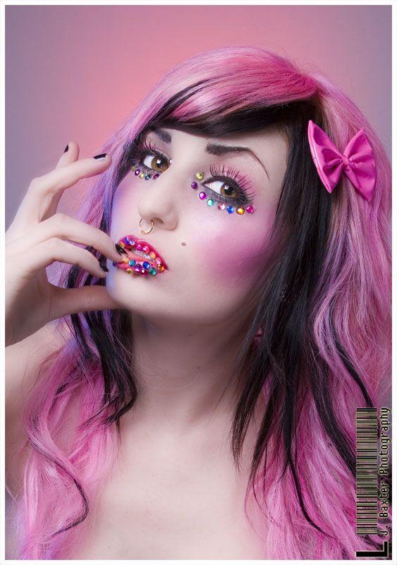 Pinkk hair :D