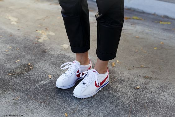 How to style Nike Cortez: