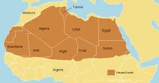 Sahara Desert (North Africa)