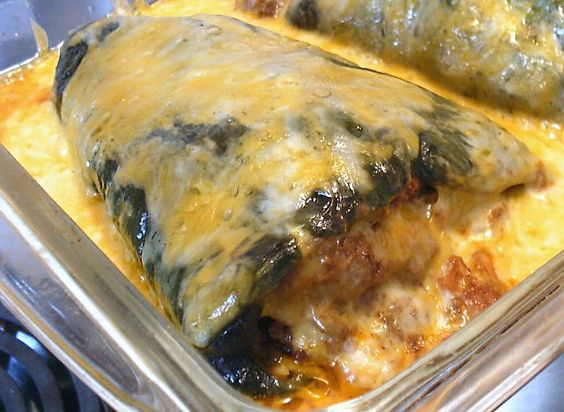stuffed poblano chiles (LCHF diet) #keto. Matthew burped after eating (it tasted like dinner I guess lol) and said he was sad because we didn't have any leftovers. Make again! Really easy!