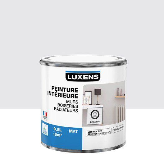 Peinture Granit 6 Mat Luxens 0 5 L à Utiliser Sur Mur Et